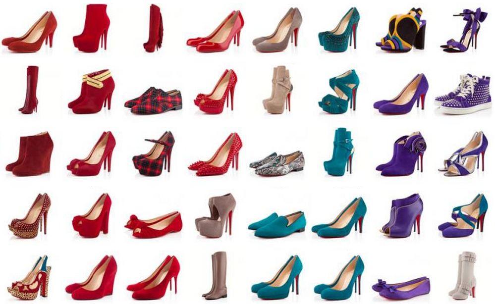 toutes les chaussures louboutin